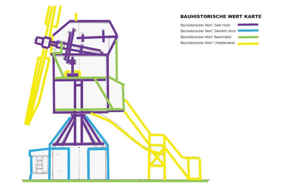Bauhistorische Werte Karte