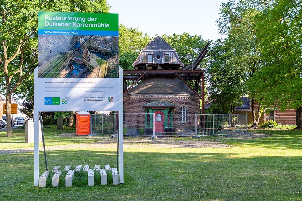 Restaurierung der Narrenmühle