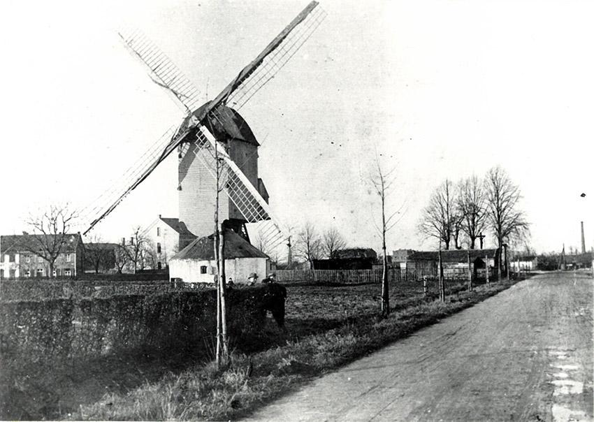 Abbildung Kornwindmühle 1912