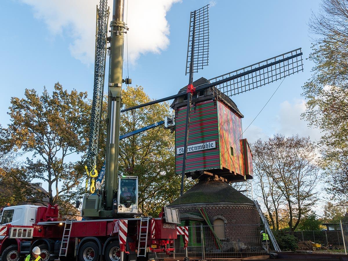 Der Wiederaufbau der Narrenmühle